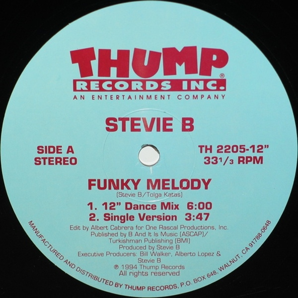 Stevie B. - Funky Melody